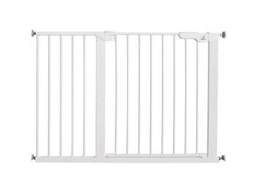 Baby Dan - Bramka ochronna PREMIER + 2 rozszerzenia 7 cm + 1 panel 32 cm + 1 rozszerzenie 14 cm