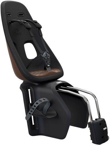 Fotelik rowerowy - THULE Yepp Nexxt Maxi Montowany do ramy - Chocolate Brown