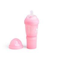 Herobility - butelka antykolkowa Herobottle 140 ml, różowa