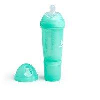 Herobility - butelka antykolkowa Herobottle 240 ml, turkusowa