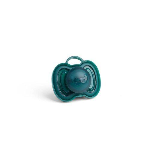 Herobility - smoczek uspokajający HeroPacifier, 0 m+, ciemnozielony