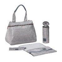Lassig - Glam Label Torba z akcesoriami Rosie Anthracite glitter