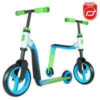Scootandride - Highwaybuddy 2w1 hulajnoga i rowerek 3+ Blue