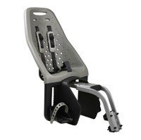 THULE - Yepp Maxi fotelik rowerowy - szary, montowany na ramę roweru