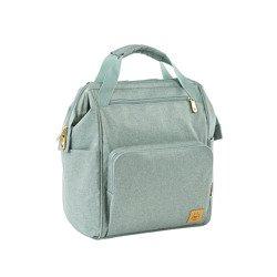 Lassig - Glam Label Plecak dla mam z akcesoriami Goldie Backpack Mint