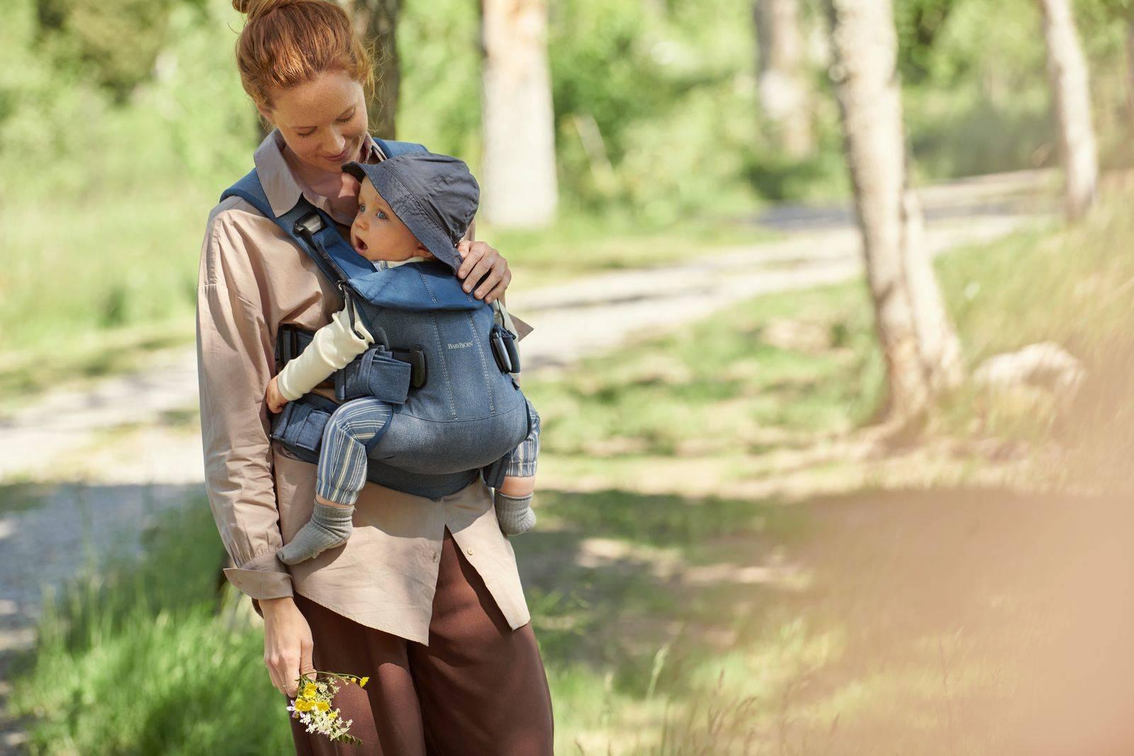 BABYBJORN ONE - nosidełko, Granatowy