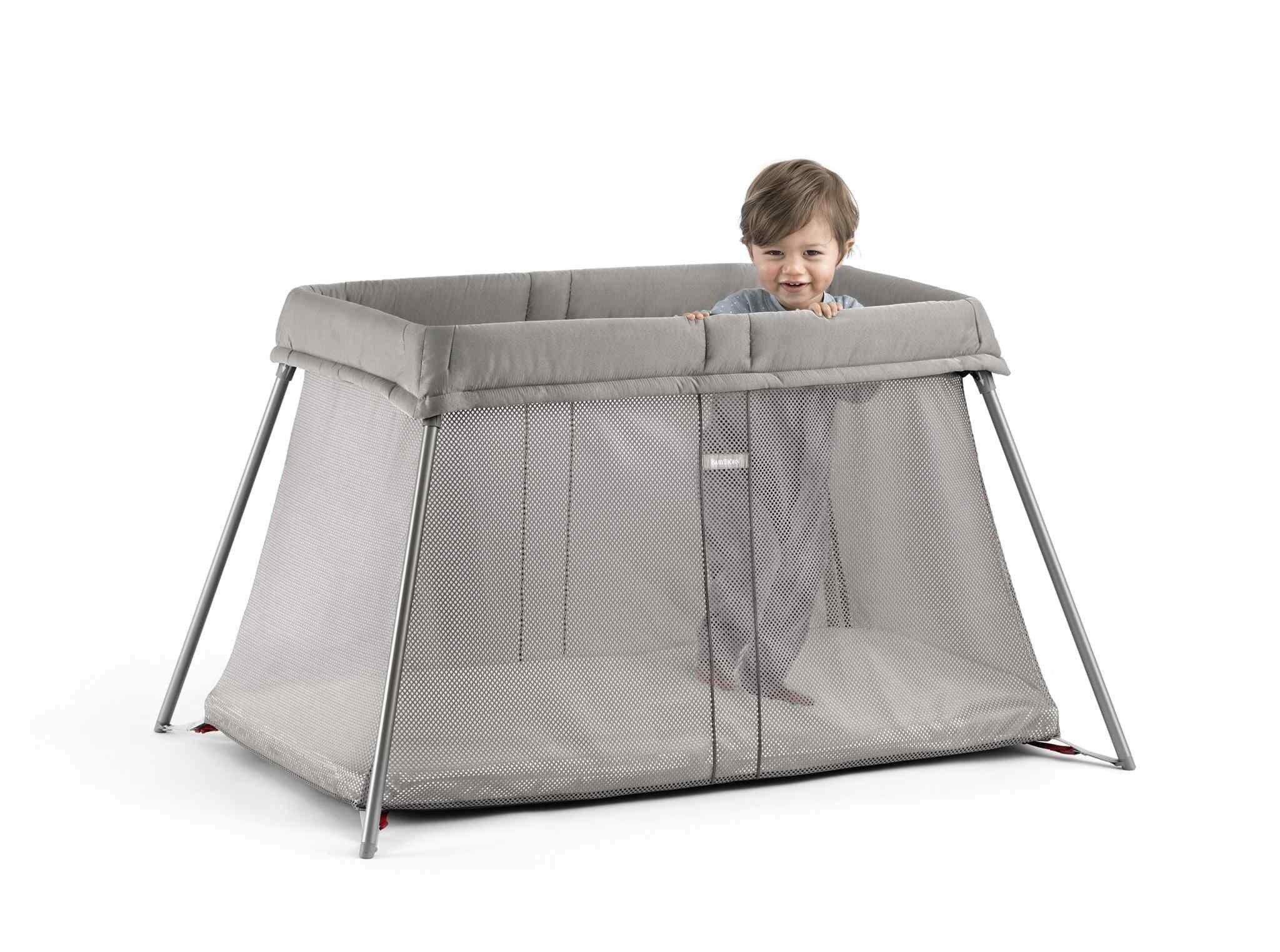 BABYBJORN - łóżeczko turystyczne Easy Go - Greige