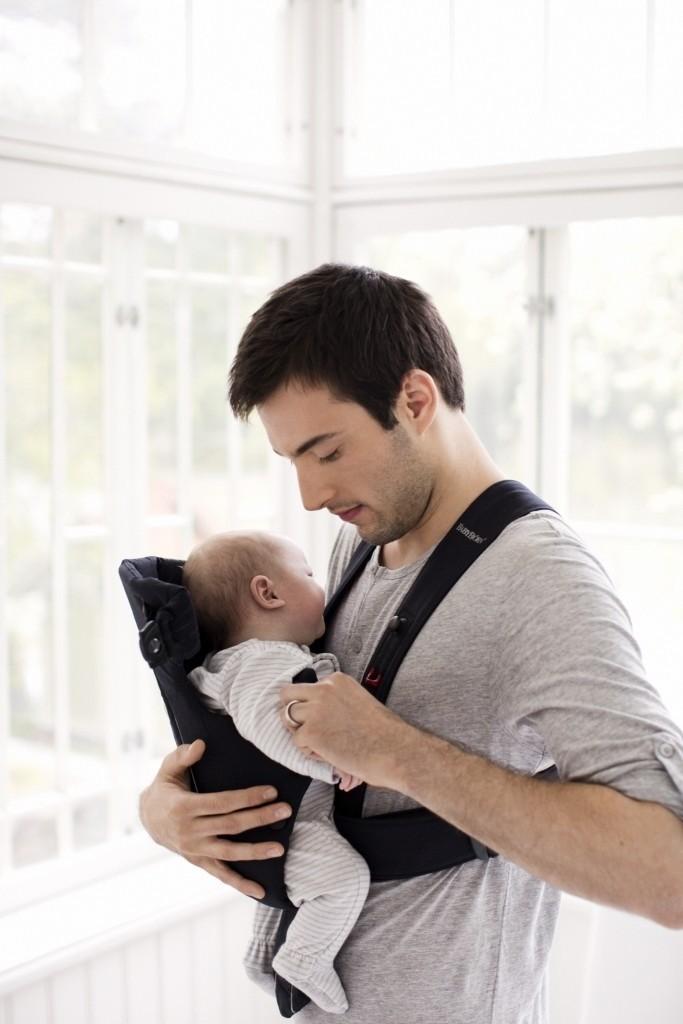 BABYBJORN ORIGINAL - nosidełko, Czarny