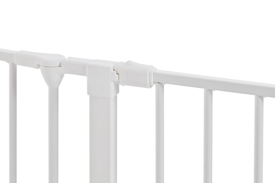 Baby Dan - Bramka ochronna FLEX M, biały