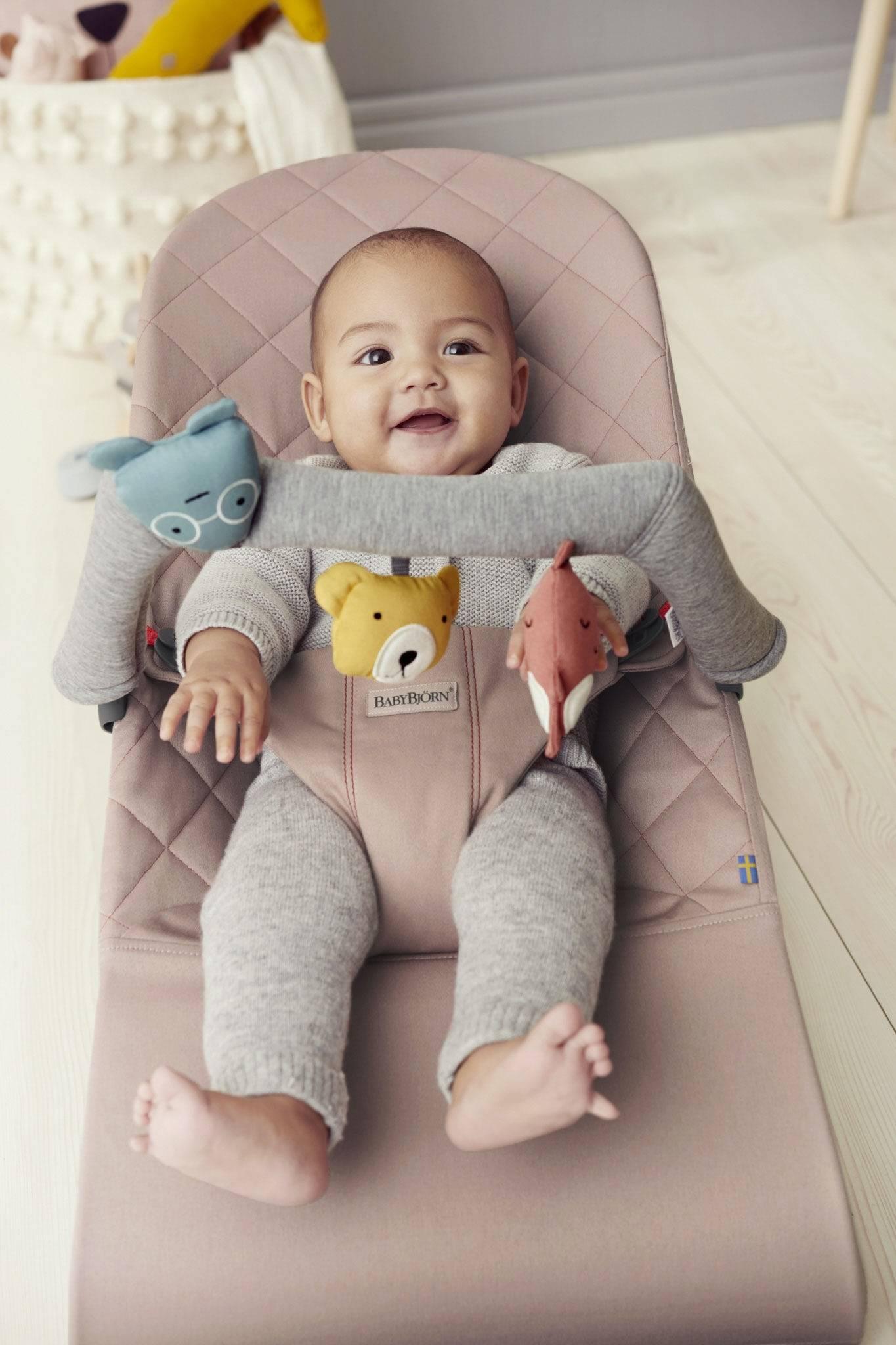 BabyBjörn zabawka do leżaczka BALANCE - Soft Friends