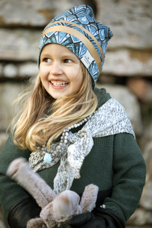 Elodie Details - Czapka - Gilded Everest Feathers 0-6m