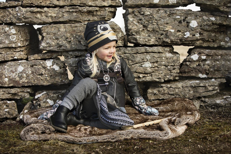 Elodie Details - Czapka Zimowa - Gilded Playful Pepe 1-2y