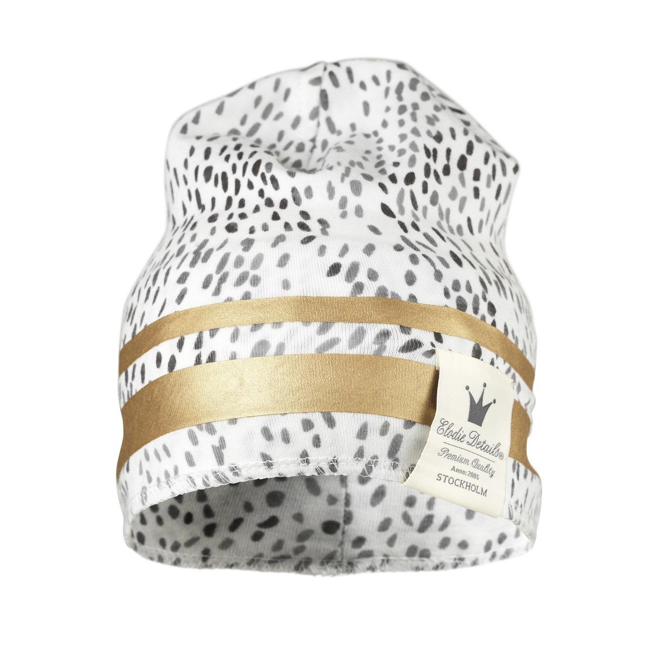 Elodie Details - Czapka bawełniana Gilded Dots of Fauna 6-12 m-cy