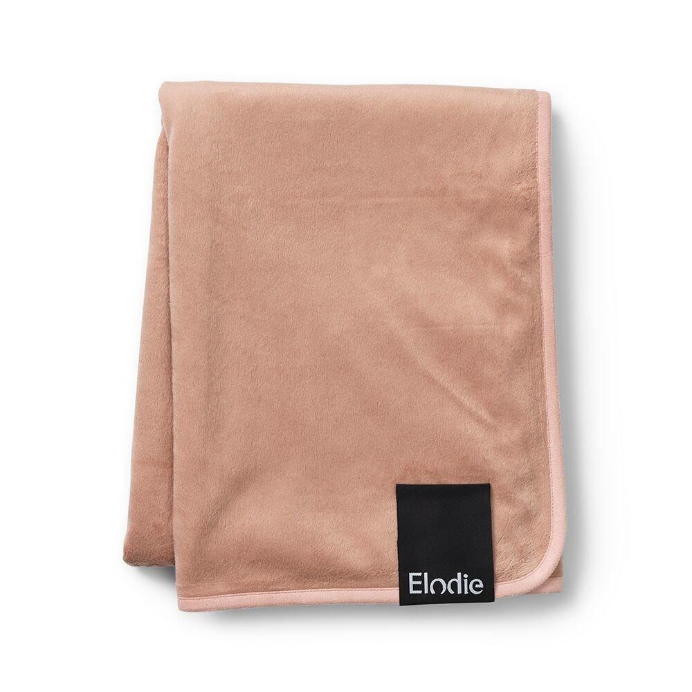 Elodie Details - Kocyk Pearl Velvet Faded Rose