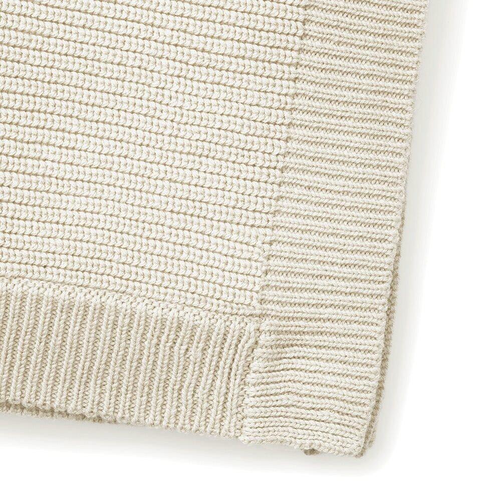 Elodie Details - Kocyk wełniany -  Vanilla White