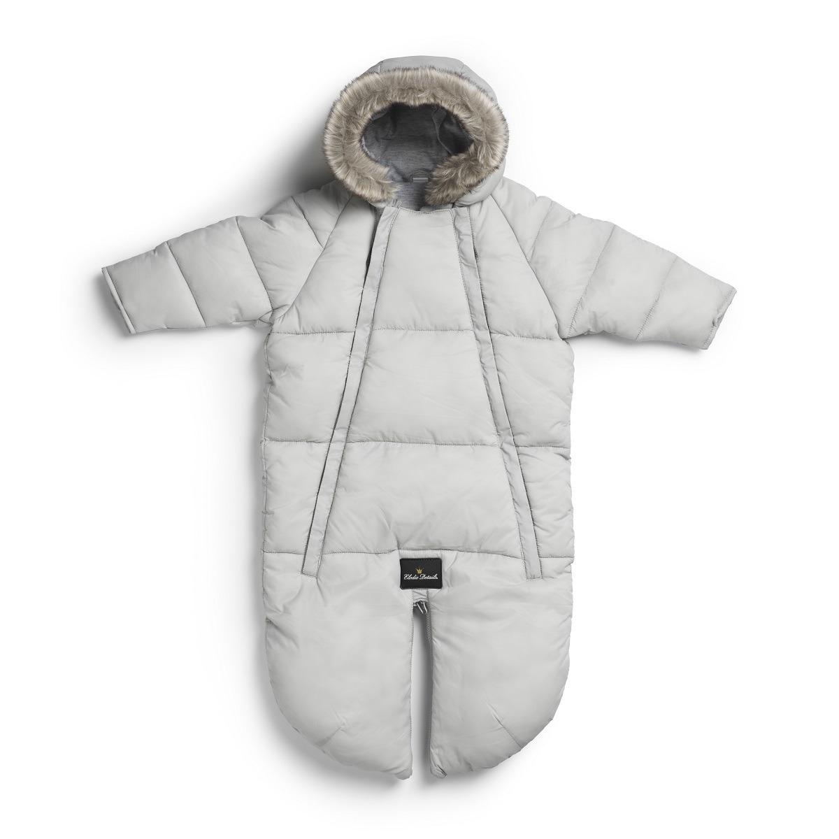Elodie Details –  Kombinezon dziecięcy - Marble Grey 6-12 m-cy