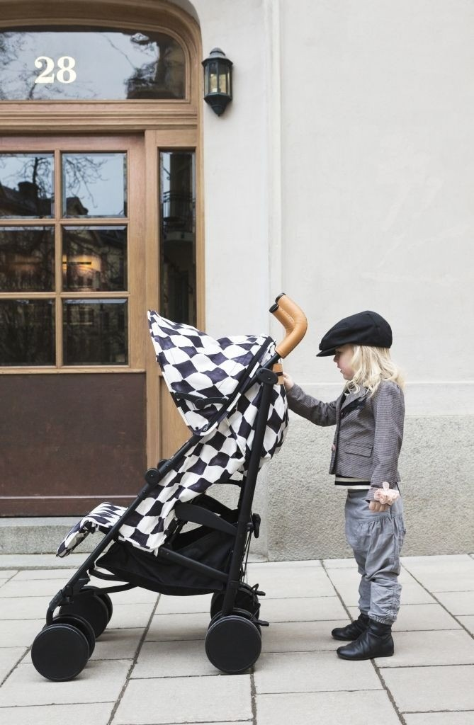 Elodie Details - wózek spacerowy Stockholm Stroller 2.0 Graphic Grace