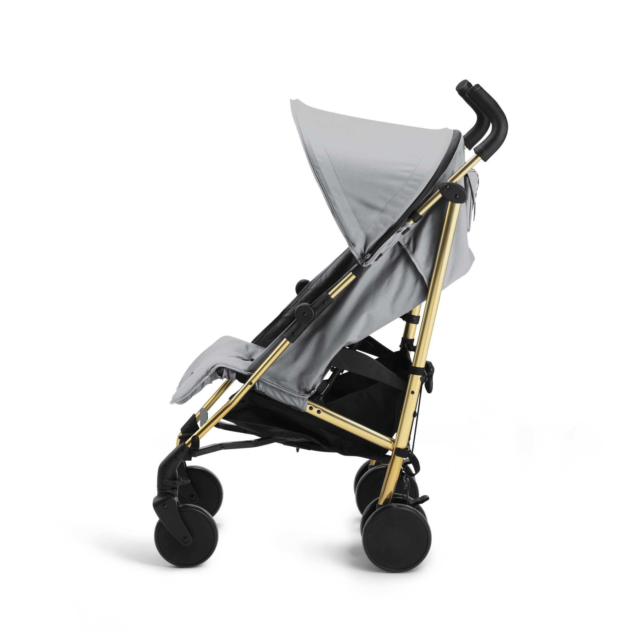 Elodie Details - wózek spacerowy Stockholm Stroller 3.0 Golden Grey