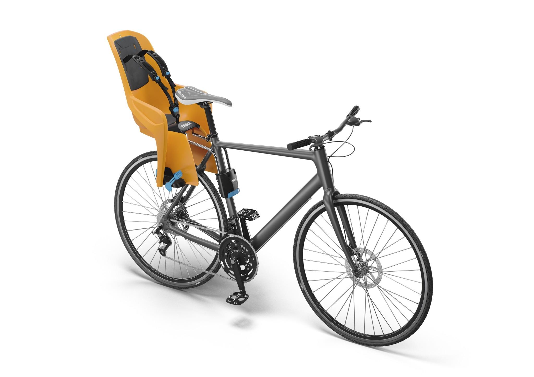 Fotelik rowerowy - THULE RideAlong Lite - pomarańczowy