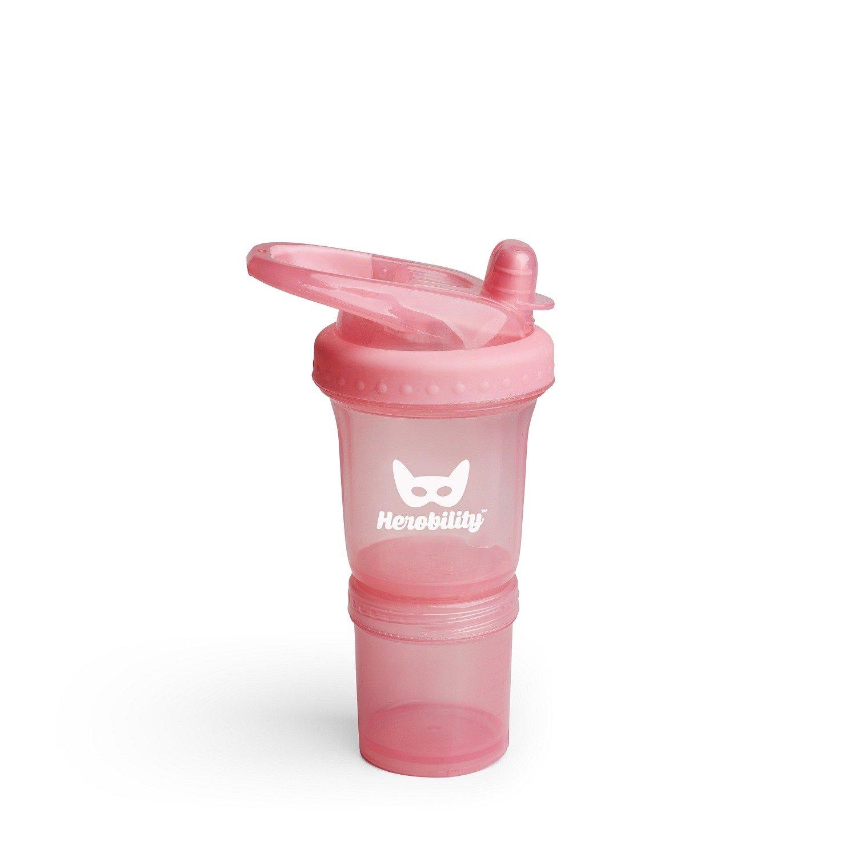 Herobility - bidon HeroSport 140ml - różowy