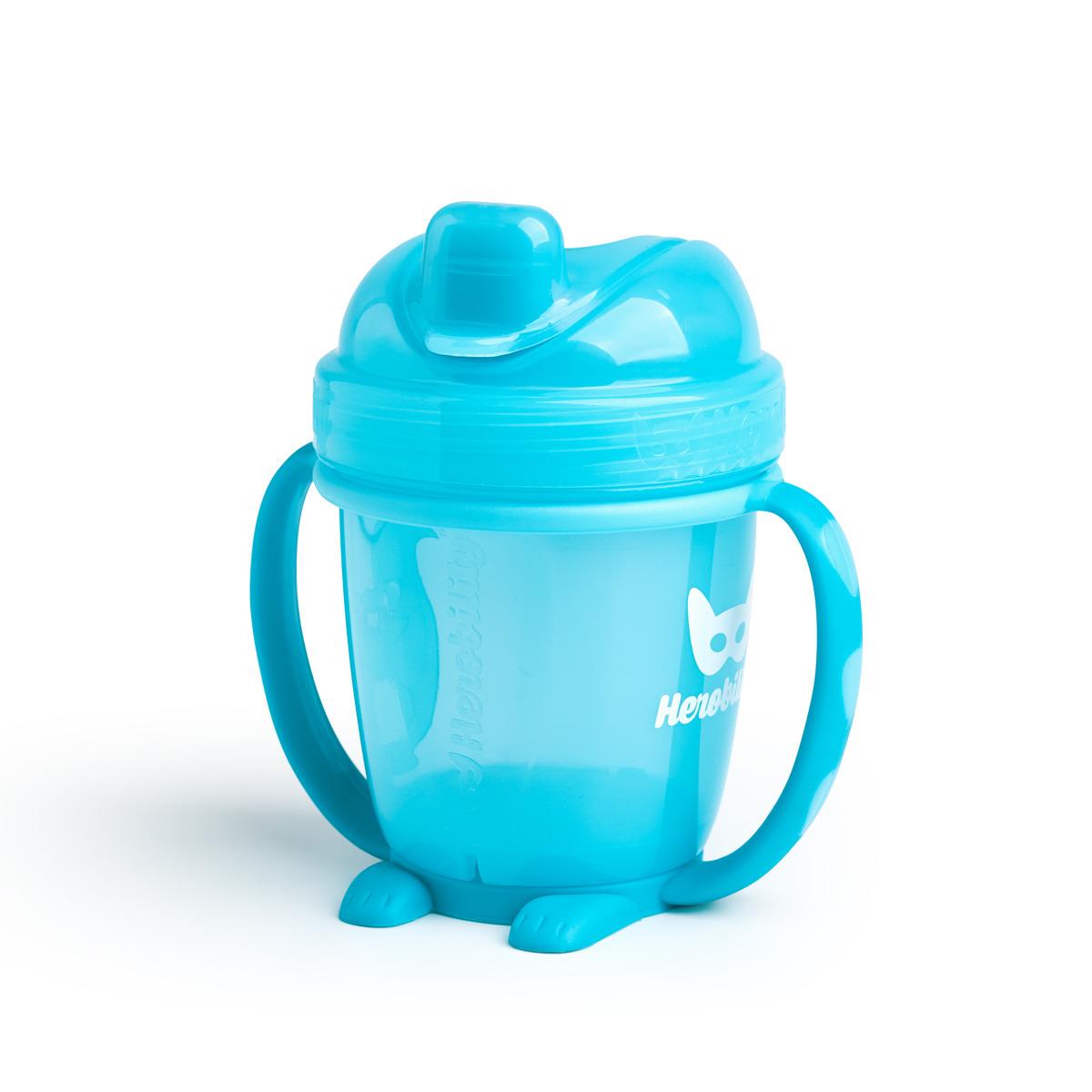 Herobility – kubek niekapek HeroSippy 140 ml, niebieski