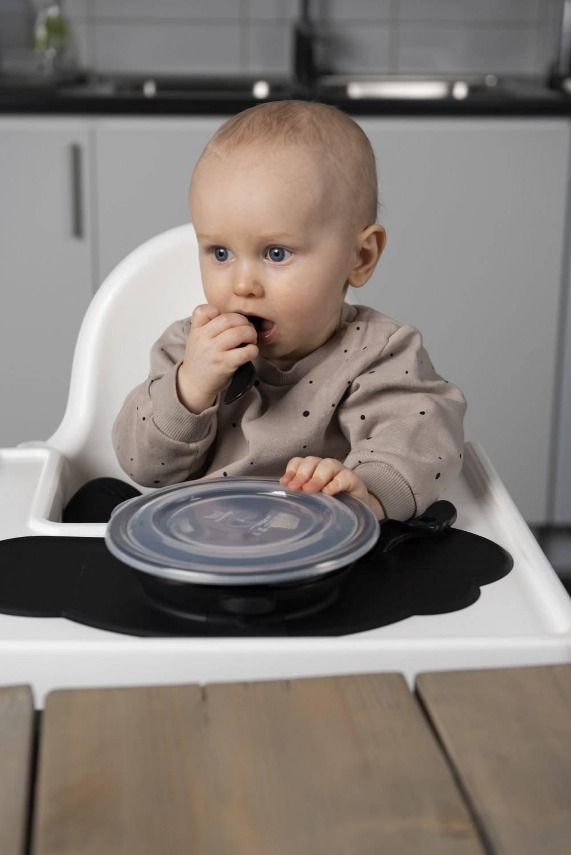 Herobility - mata do jedzenia, czarna