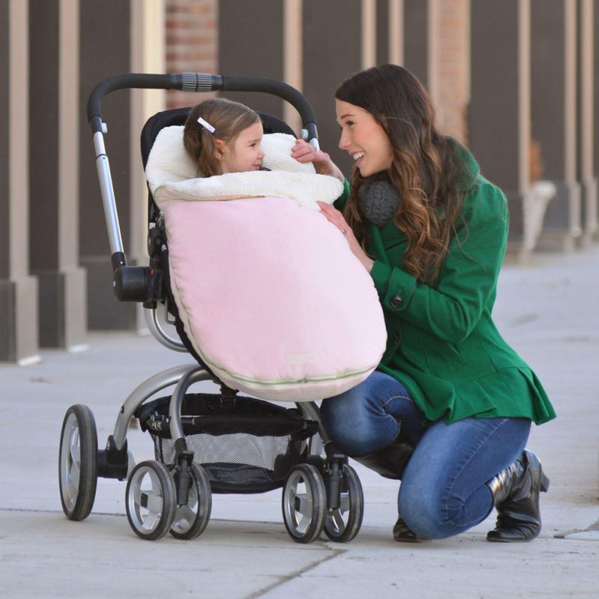 JJ Cole - Śpiworek Original Pink do wózka