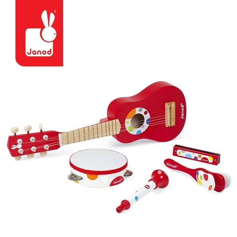 Znalezione obrazy dla zapytania zestaw instrumentów confetti janod