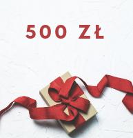 Karta prezentowa 500 zł