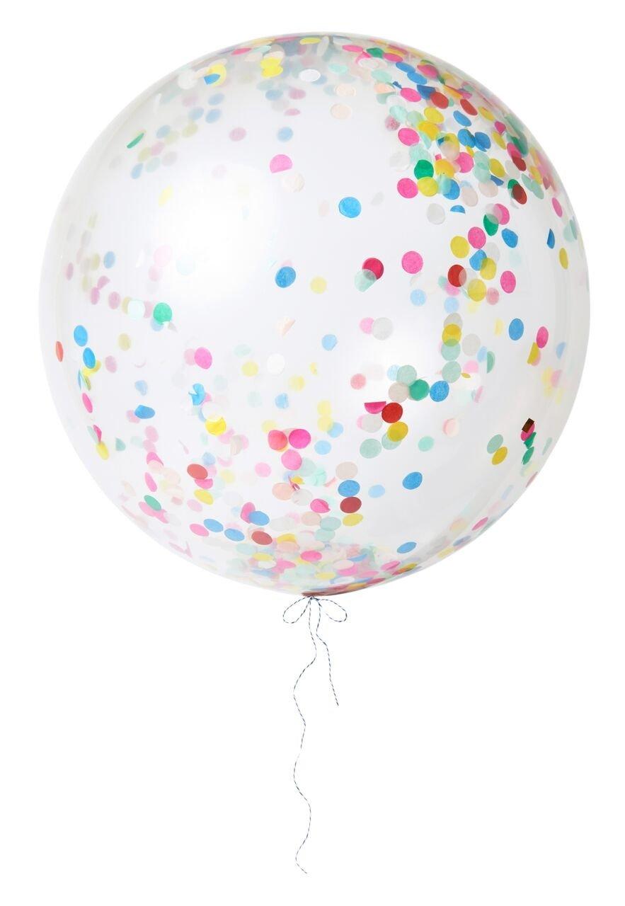 Meri Meri – Balon gigant Konfetti pastelowe