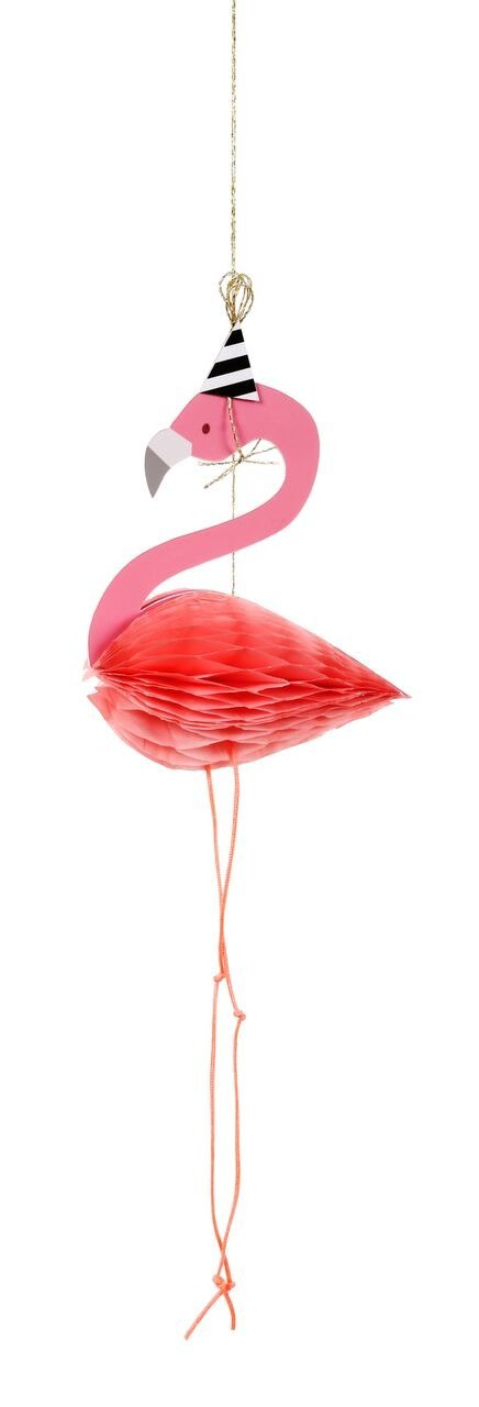 Meri Meri – Kartka okolicznościowa 3D Flaming