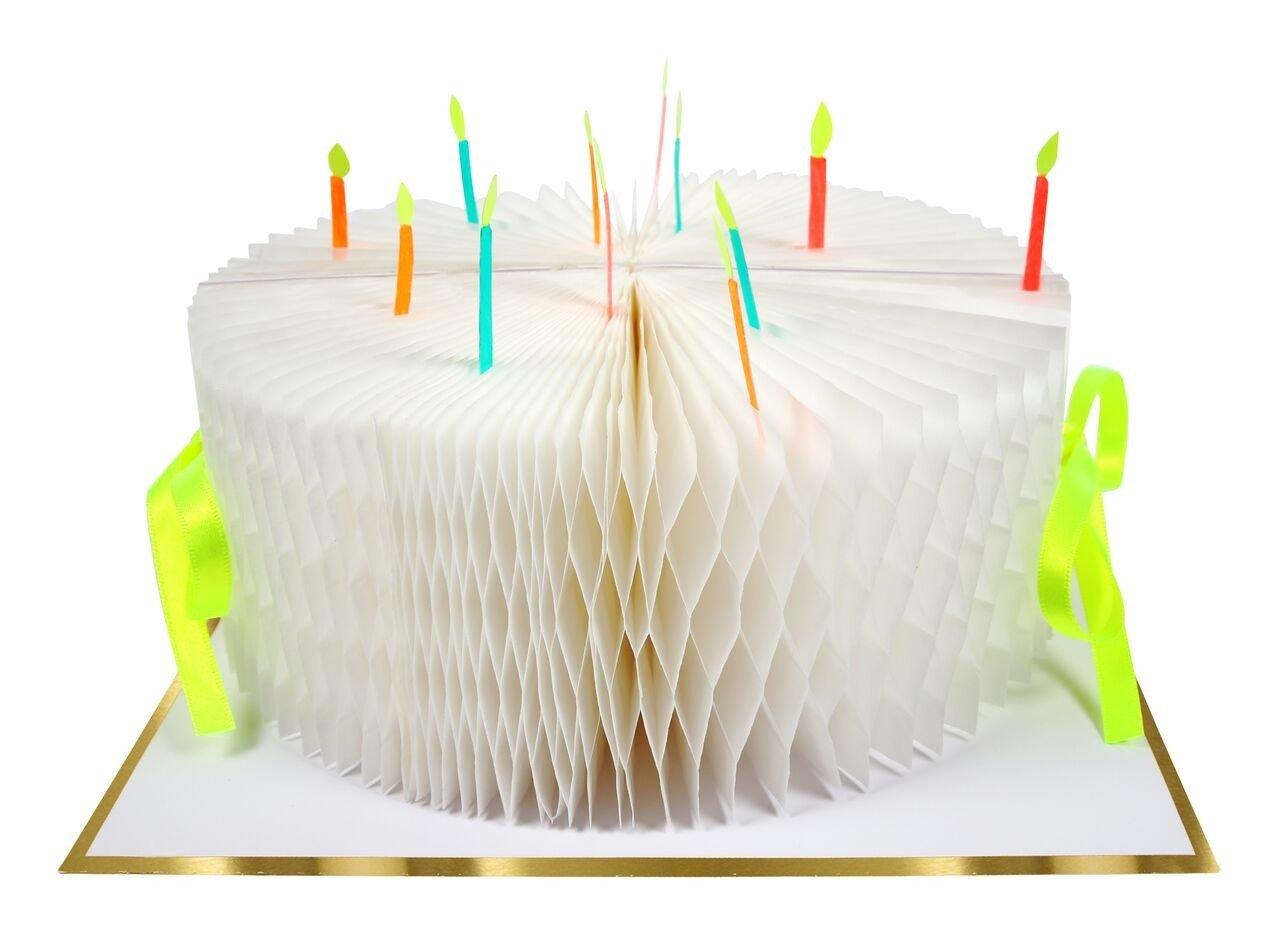 Meri Meri – Kartka okolicznościowa 3D Tort