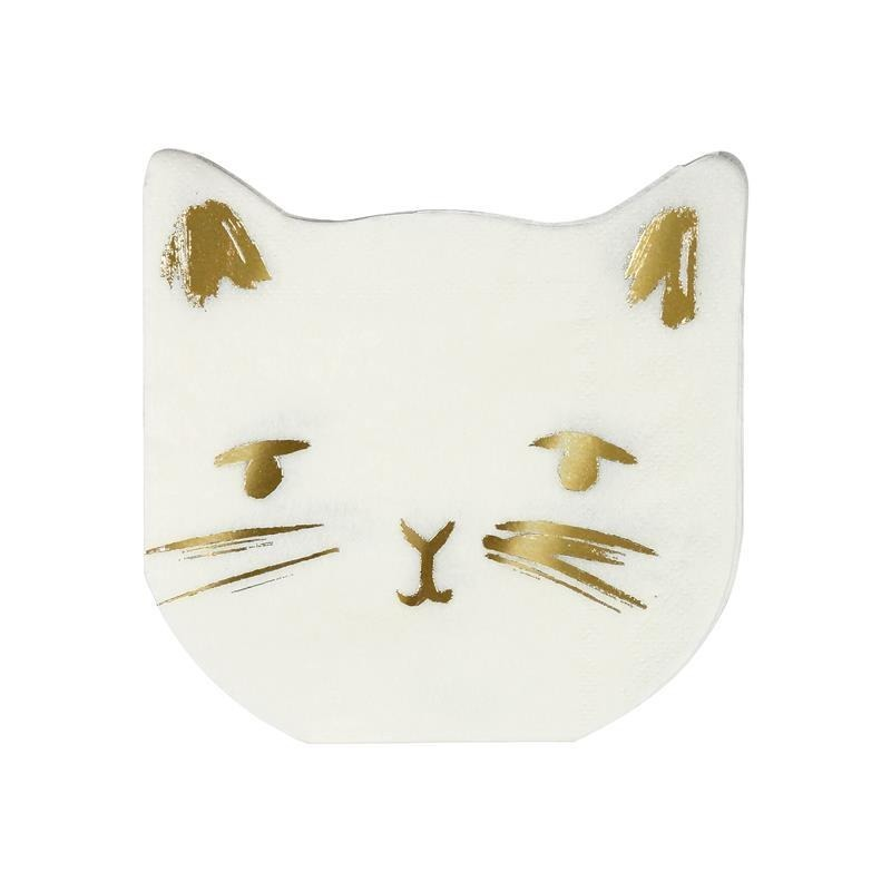 Meri Meri - Serwetki Kot