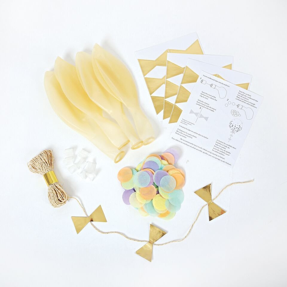 Meri Meri – Zestaw balonów Konfetti pastelowe