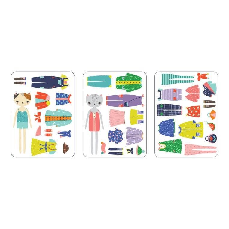 Mudpuppy – Magnetyczne Postacie Kocie modelki 4+