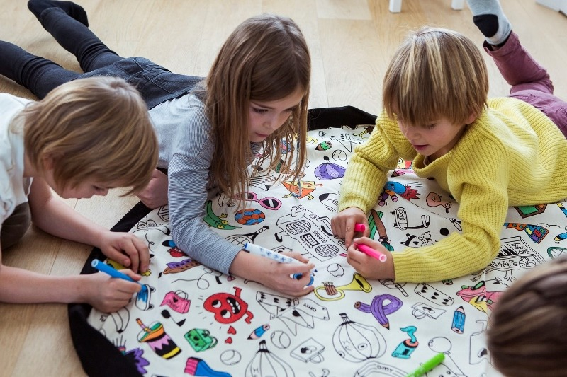 Play&Go - Worek do kolorowania OMY