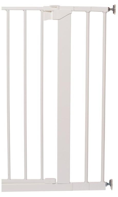 Rozszerzenie bramek Baby Dan PREMIER/SLIMFIT 7 cm, biały
