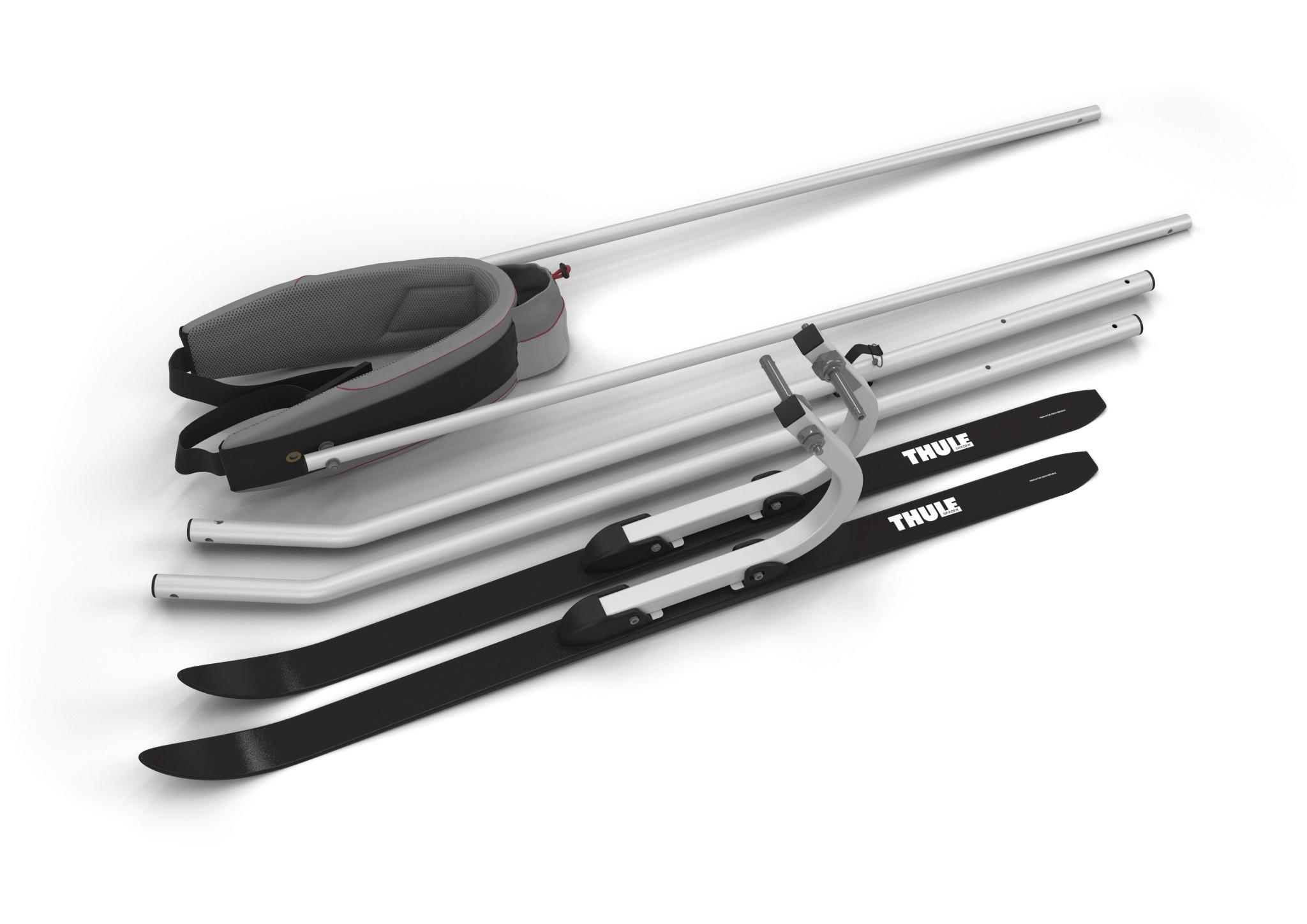 THULE Chariot - Zestaw do uprawiania narciarstwa biegowego i pieszych wędrówek, 2017