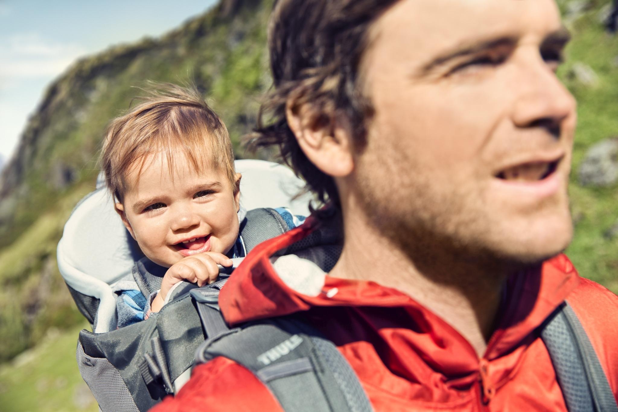 THULE Sapling Elite - Nosidło turystyczne dla dzieci - ciemnoszary