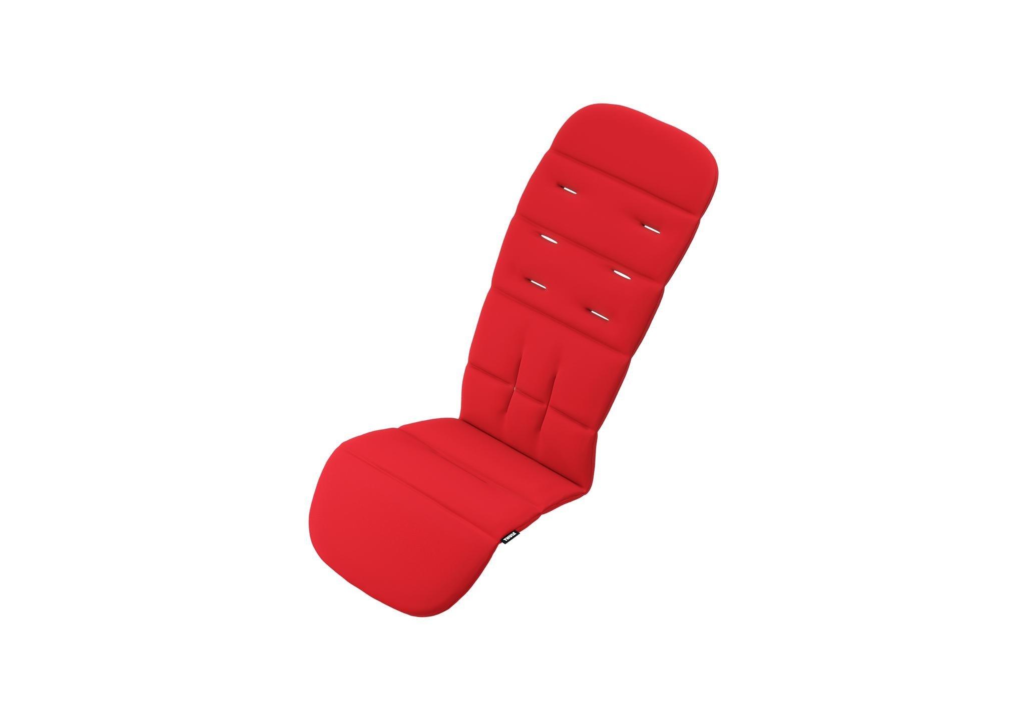 Thule Sleek - miękka wkładka do wózka - Energy Red