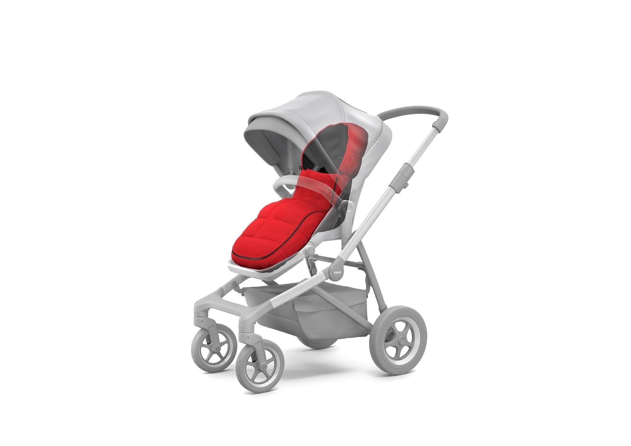 Thule Sleek - śpiworek do wózka - Energy Red