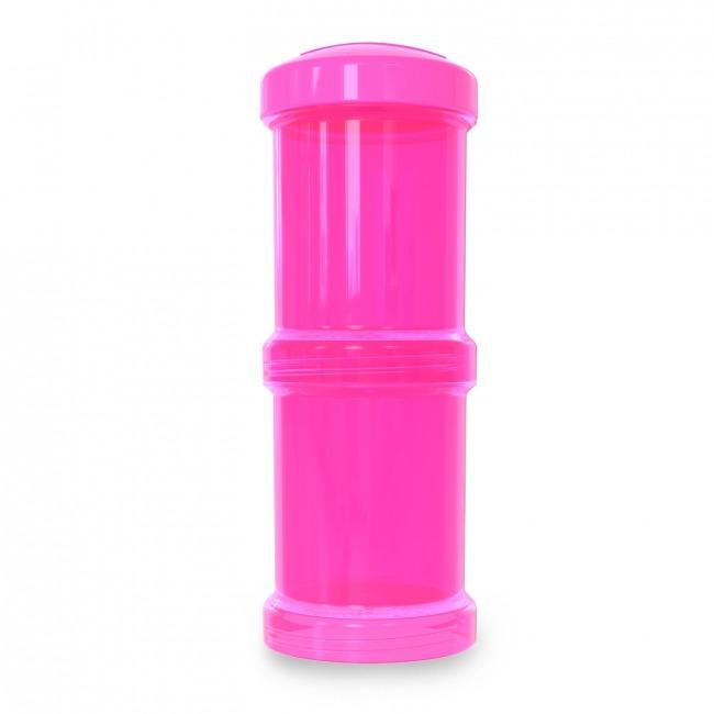 Twistshake - Pojemnik 2x100ml, różowy
