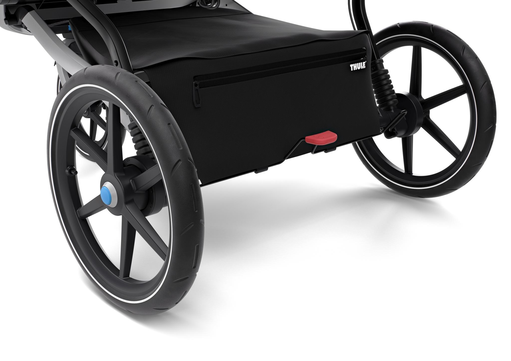 Wózek do biegania podwójny THULE Urban Glide 2 Double Jet Black