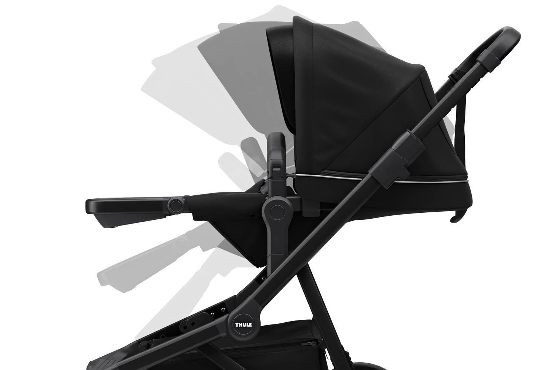 Wózek spacerowy Thule Sleek Midnight Black on Black