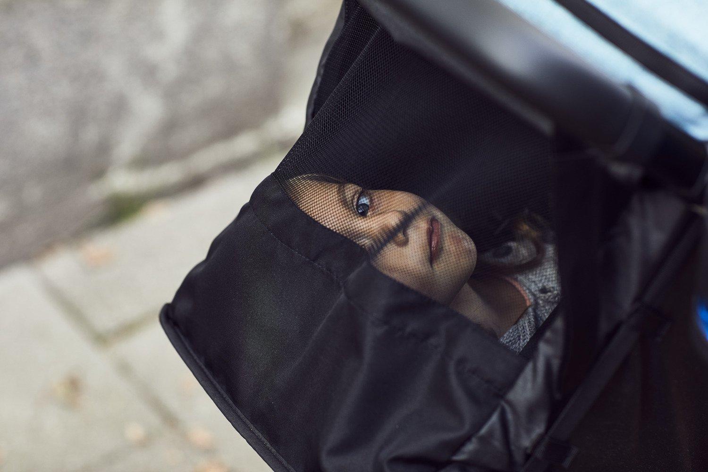 Wózek spacerowy Thule Spring Black Grey Melange