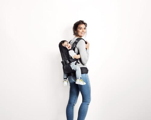 BABYBJORN ONE - nosidełko ergonomiczne, beżowy
