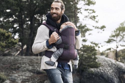 BABYBJORN ONE - nosidełko ergonomiczne, fioletowy