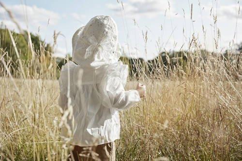 Elodie Details - Kapelusz przeciwsłoneczny - Embroidery Anglaise 2-3 lata
