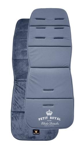 Elodie Details - Miękka wkładka do wózka Petit Royal Blue