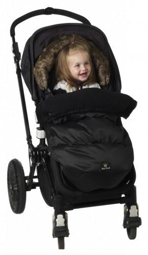 Elodie Details - Śpiworek do wózka Black Edition